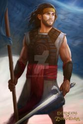 Captain Moroni by oneKATIE