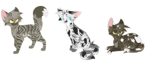Blizzardfang X Tunnelface Hypokits by Bluefire-kitteh