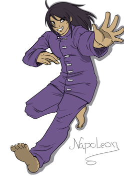 Napoleon in Action by MirrorLadyBrulee