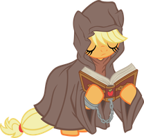 Applejack Destiny (The Sandmare) by tygerbug