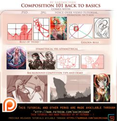 Composition 101 basic voice over lesson pack.promo by sakimichan
