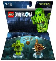LEGO Dimensions Cthulhu Fun Pack by Steam-HeART