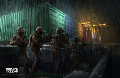 Breach and Clear Navy Seals by J-Humphries