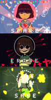 SPARE // ERASE // SAVE by escafandrista