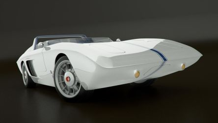 Ford Mustang Concept '62 04 by Edge-Suizo
