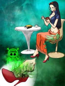 RQ Nico Robin - one smell by Toes2X5