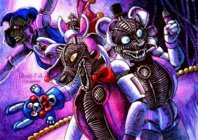 Circus of the night / FNaF SL by Mizuki-T-A