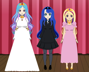 AA Princesses by roseprincessmitia