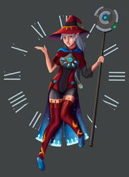 Time Witch concept by winterwolf38