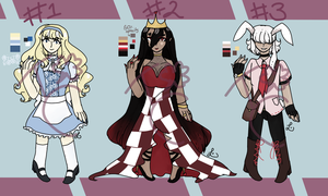 Wonderland Adoptables [1/3 OPEN] REDUCED PRICE by TwistedCorn
