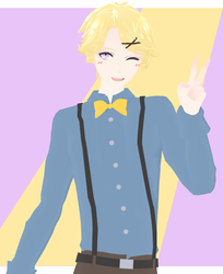 DL: TDA Yoosung Kim Party Outfit [Secret Santa] by maydayfireball