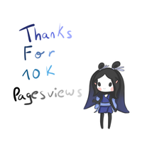 Thanks for the 10 K Pageviews by Saria48