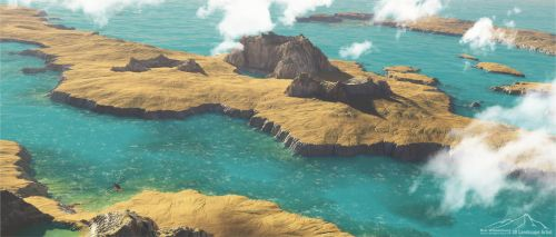 Coastal Landforms Prt. 1 by 3DLandscapeArtist