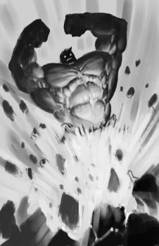 Hulk sketch by edsfox