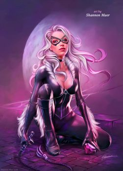 Black Cat by Shannon Maer by Shannon-Maer