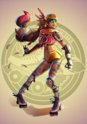 Roller Derby girl by maikymAik