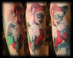 Harley Quinn Tattoo by NateTheKnife