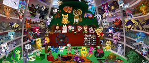 G#33: PLUSH FACTORY , MERRY CHRISTMAS by poolvosje