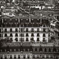 Paris rooftops by kpavlis