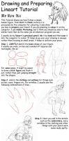 Drawing and Lineart Tutorial by Ryu-Ka