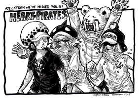 Heart Pirates by Captain--Ruffy