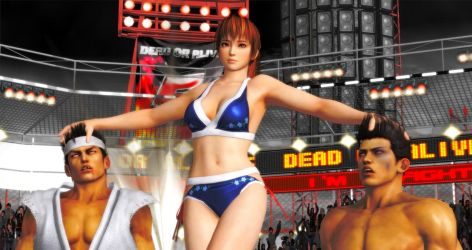 Kasumi in DOA tournament by qkrtkf