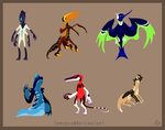 Design Sheet Commish zombiecatfire13 by Immonia