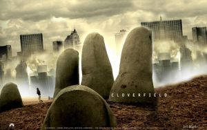 Cloverfield Fake Poster by antirobotic