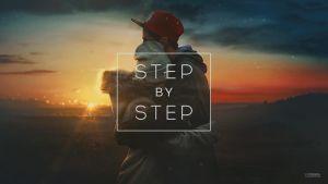 Cold sunset / step by step gif by maxasabin