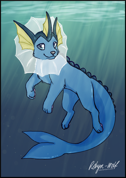 Under the surface by Robyn-Wolf