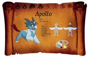 Apollo ref sheet by Bat-Symphony