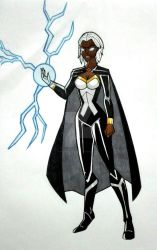 Storm. X men by Inglessis79