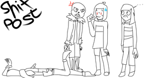 Undertale Draw The Squad by NOTRandal0