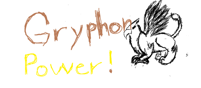 Gryphon Power! by ajepic