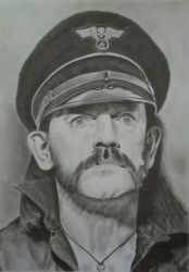 Lemmy Kilmister (Graphite Pencils) 2018 by 113MB