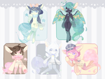 Set Price :: Make a Wish [ 2/5 OPEN ] by Devi-Adopts