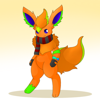 Kylor the Flareon by PKM-150