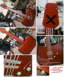 .Marceline's Axe-Bass. by Samuraiqueen