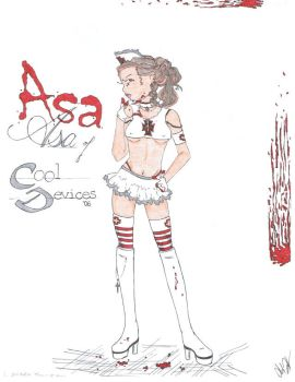 Asa of Sector CD by lolorrain