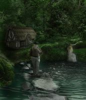 Tom Bombadil's Home by Maiden-Hebi