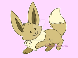 Eevee by washumow