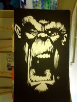 Crazy monkey...huge by deathbyarchitecture