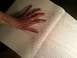 The power of writing by SaraGray