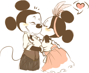 Zoot Suit Kiss by cici-chi