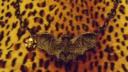 Bat Necklace by Miss-Holly-Horror