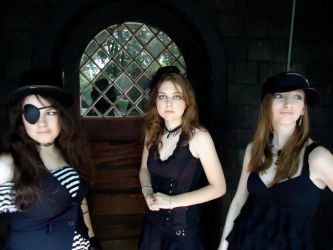 3 Female Models 5 by Melzipants-Stock