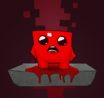 Super Meat Boy - The Hospital by Applay2