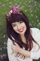 Semmy smiling by Estelle-Photographie