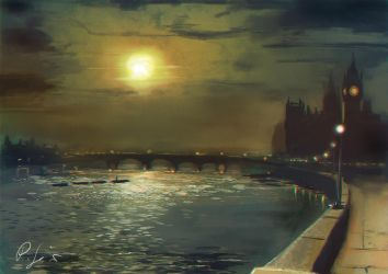London master study by BloodyWing