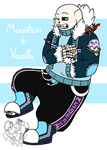 Mountain and Vanilla (Size Matters) by NobleTanu